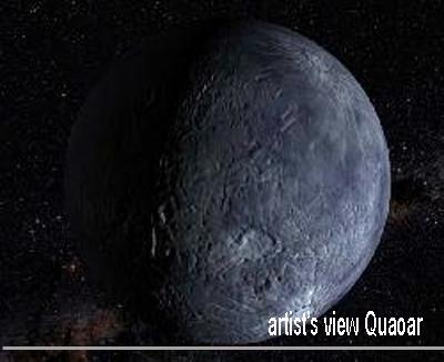 Quaoar Artist's View