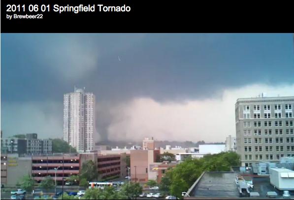June 01, 2011 Tornado, Springfield, MA