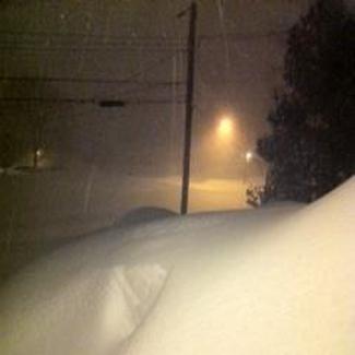 3 AM Feb 9 2013 Snowfall